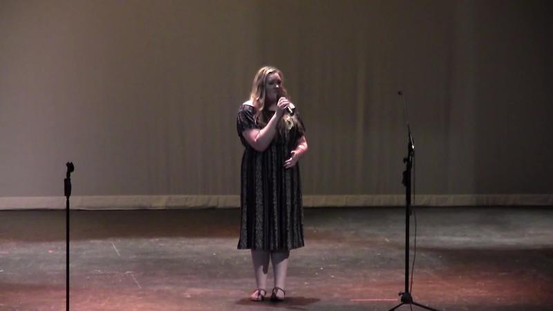 """Call Me"" - College Station HS Choir Soloist 05/24/2018"