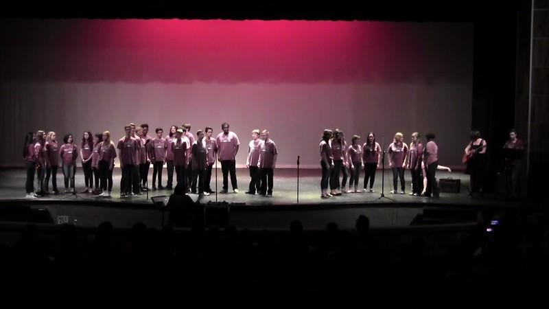 """From Now On"" - College Station HS Chorale 05/24/2018"