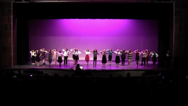 """Boogie Woogie Bugle Boy"" - College Station HS Varsity Women's Choir 05/24/2018"