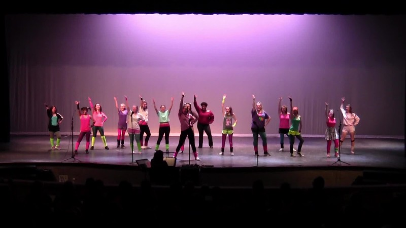 """Disco Divas, A Choral Medley"" - College Station HS Chorale Women 05/24/2018"