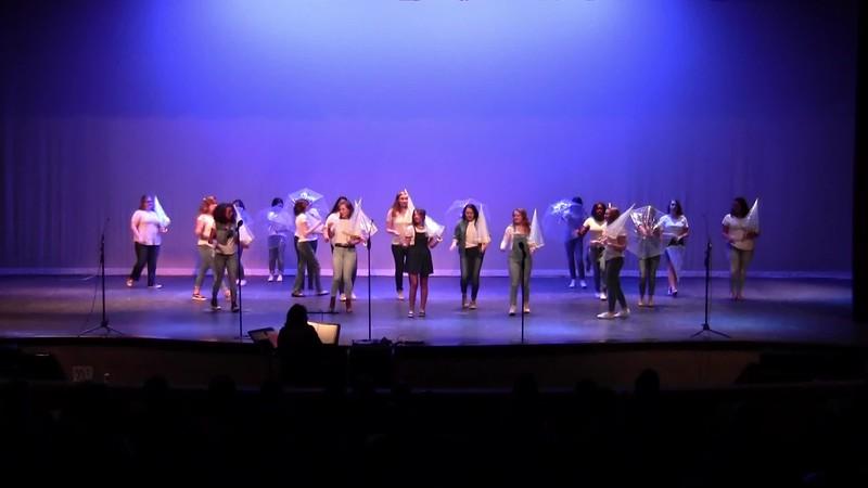 """Singin' in the Rain"" - College Station HS Varsity Women's Choir 05/24/2018"