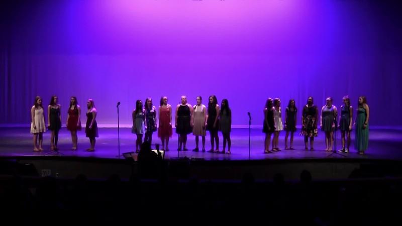 """Songs of a Disney Princess"" - College Station HS JV Choir 05/24/2018"