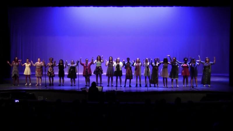 """60's Chicks, A Medley"" - College Station HS Concert Choir 05/24/2018"