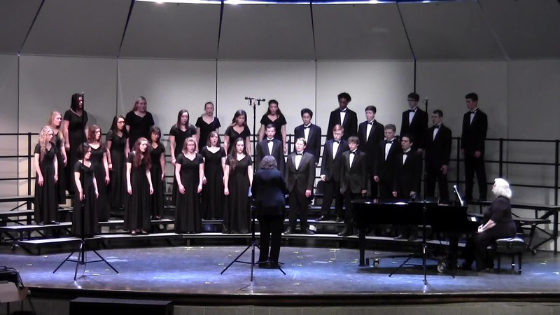 """Cheres Fleurs"" - College Station HS Mixed Varsity Choir UIL 04/19/2018"