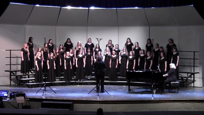 """Song of Ruth"" - College Station HS Treble Varsity Choir UIL 04/19/2018"