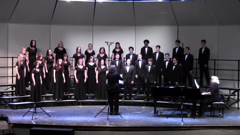 """Laetatus Sum"" - College Station HS Mixed Varsity Choir UIL 04/19/2018"