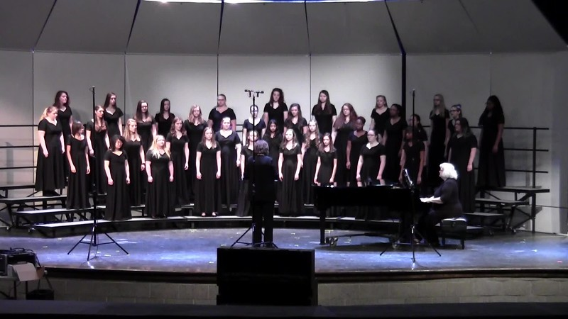 """Lunar Lullaby"" - College Station HS Treble Non-Varsity Choir UIL 04/19/2018"