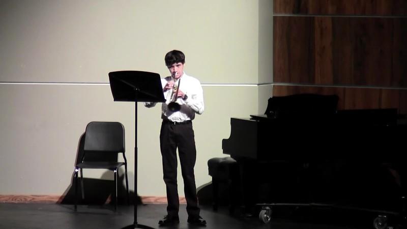 "CSHS Trumpet Solo - ""Fantasy Brilliante"""