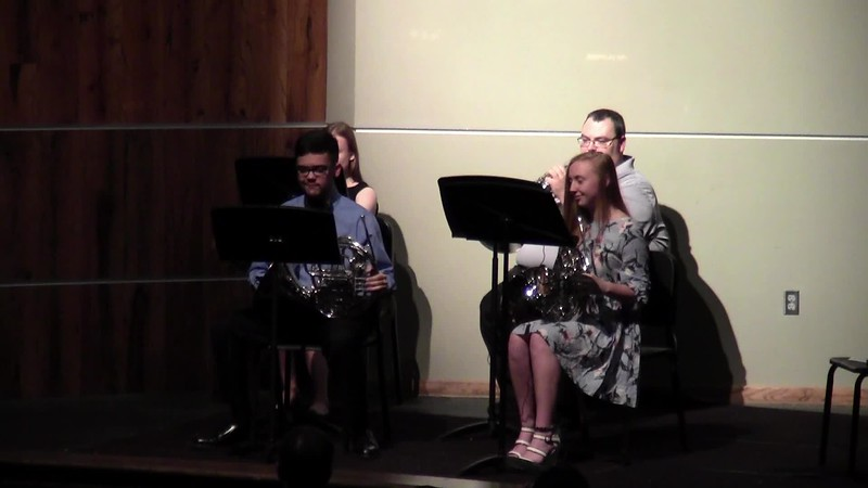 "CSHS French Horn Quartet - ""Frippery No. 2"""