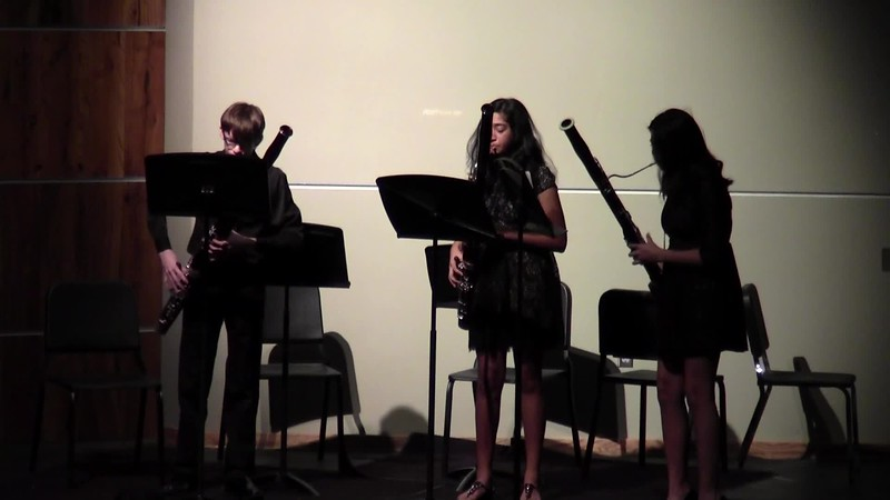 "CSHS Bassoon Trio - ""Turkish March"""