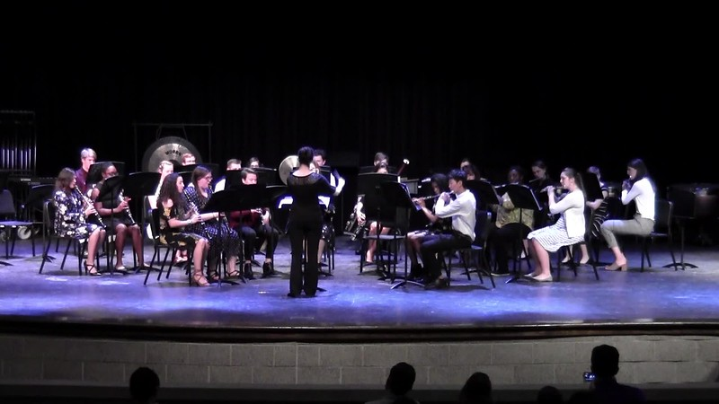 "CSHS Woodwind Ensemble - ""Heliotrope Boquet"""
