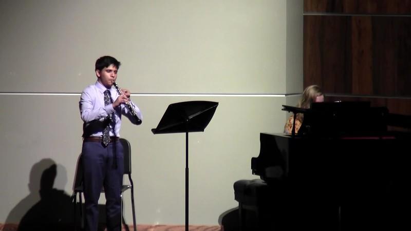 """CSHS Oboe Solo - """"Concertante"""""""