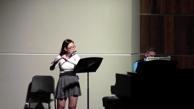 "CSHS Flute Solo - ""Suite Op. 34, Movement III"""