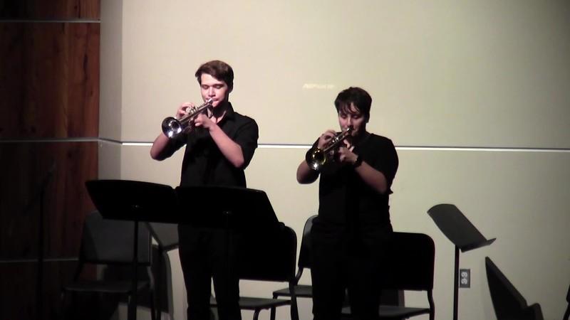 "CSHS Trumpet Duet - ""Pop Culture Medley"""