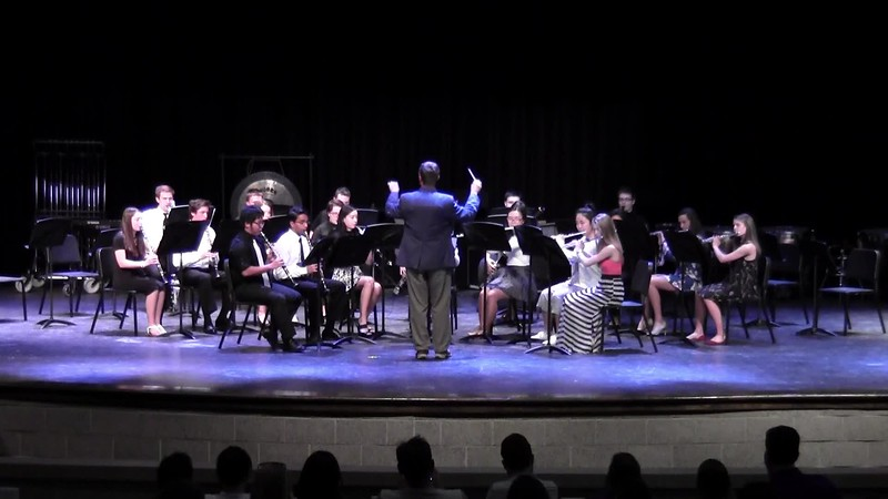 "CSHS Woodwind Ensemble - ""Maple Leaf Rag"""