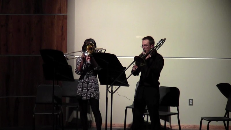 "CSHS Trombone Duet - ""Symphony No. 9 from the New World"""