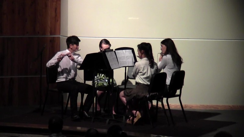 "CSHS Flute Quartet - ""River Flows In You"""