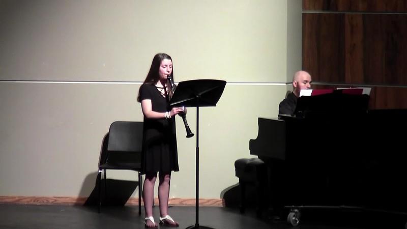 """CSHS Clarinet Solo - """"Morceau De Concert Andante"""""""
