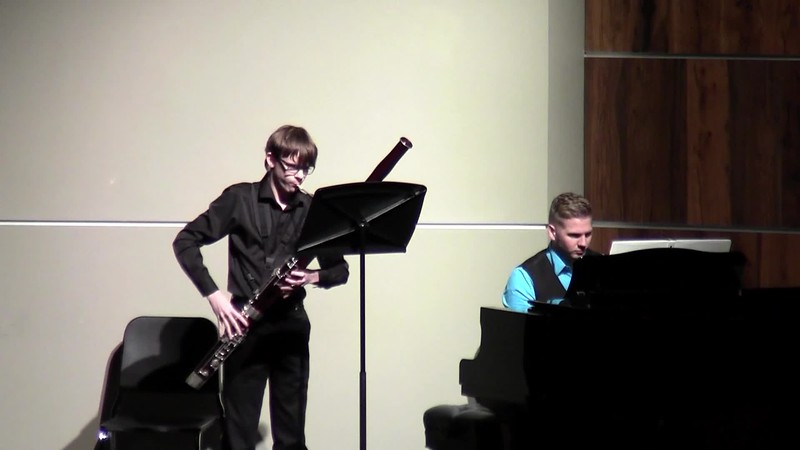 "CSHS Bassoon Solo - ""Sonate for Bassoon and Piano"""