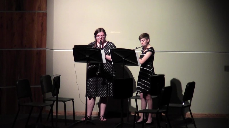 """CSHS Woodwind Duet - """"Jesu Bleibet Meine Freude"""""""