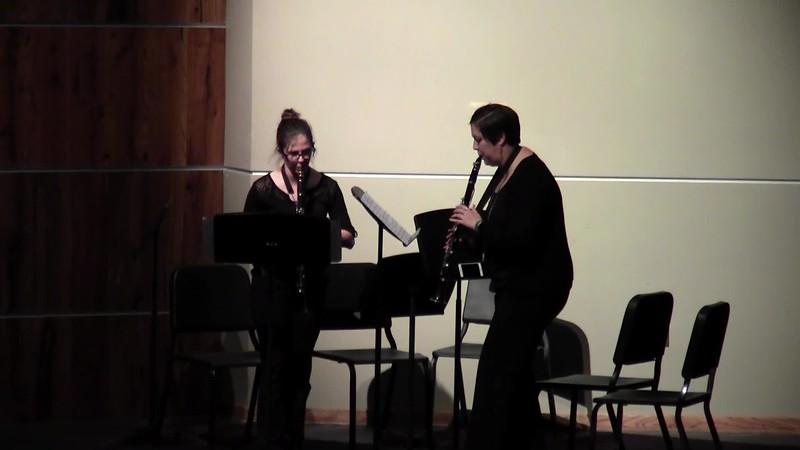 "CSHS Clarinet Duet - ""Knock, Knock"""