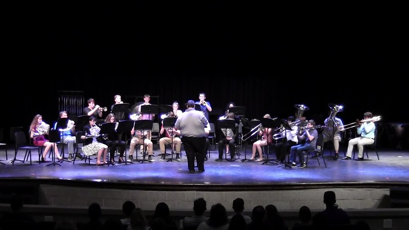 "CSHS Brass Ensemble - ""Madrigal #1"""