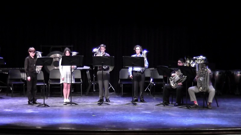 "CSHS Low Brass Ensemble - ""Down to the River to Pray"""