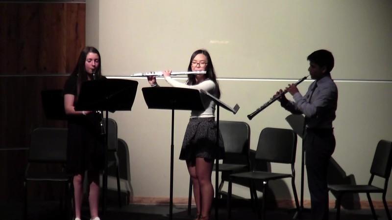 "CSHS Woodwind Trio - ""Romanza"""
