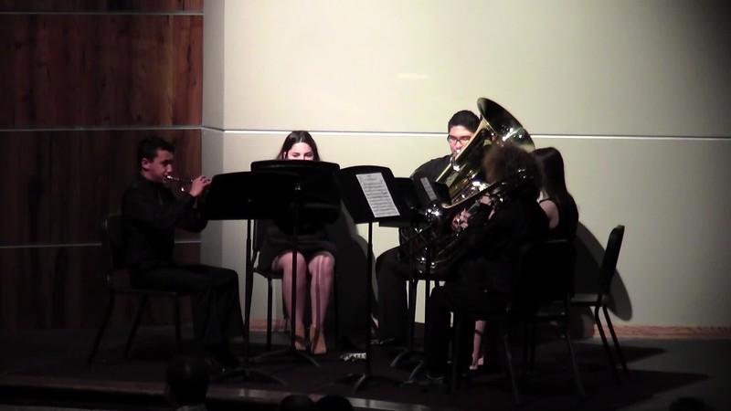 """CSHS Brass Quintet - """"Die Bankelsangerlieder"""""""