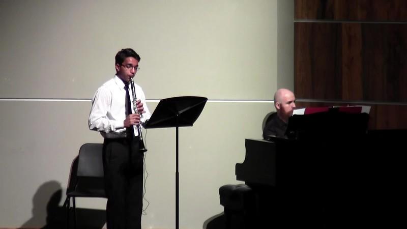 "CSHS Clarinet Solo - ""Serenade"""