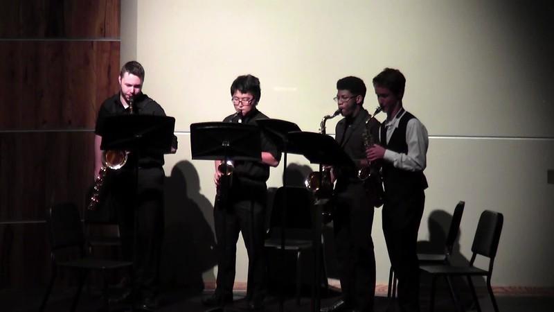"""CSHS Woodwind Quartet - """"Detective Conan"""""""