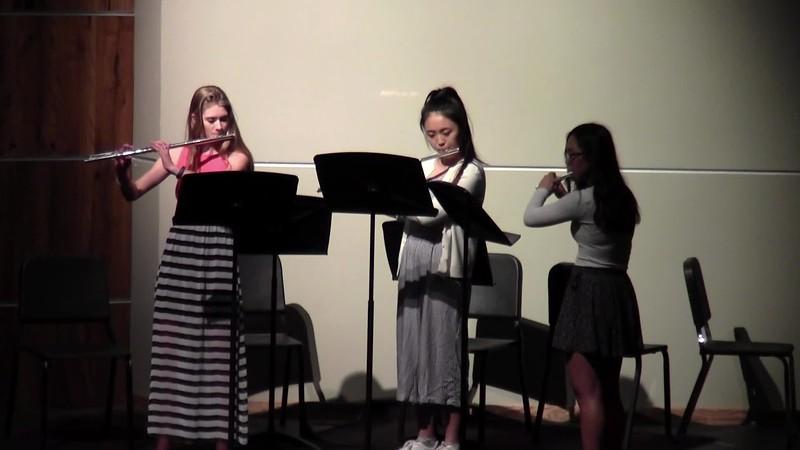 """CSHS Flute Trio - """"Trio No. II"""""""