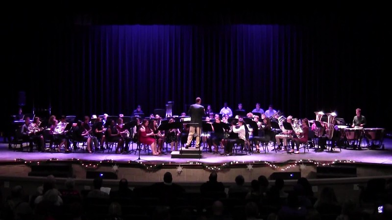 "College Station HS Symphonic Band - ""A Cowboy Christmas"""