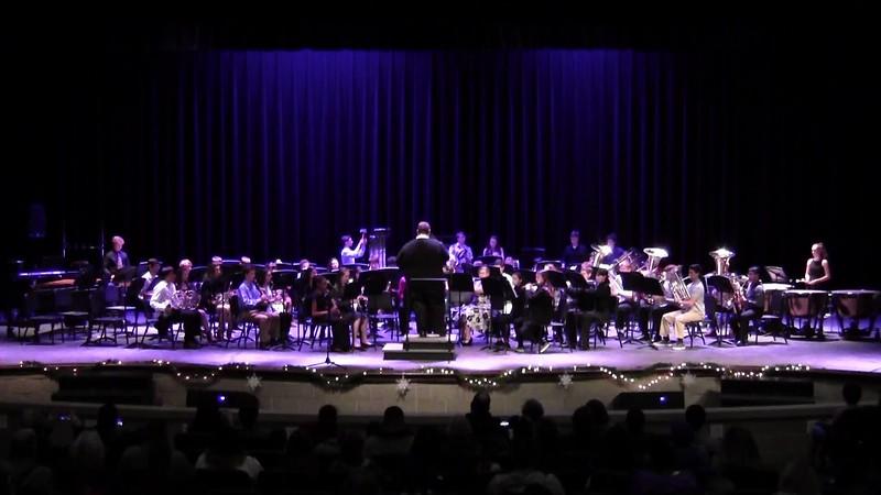 "College Station HS Concert Band - ""Carol of the Bells"""