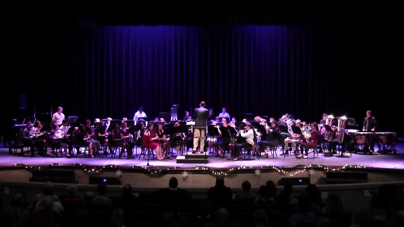 "College Station HS Symphonic Band - ""Polar Express"""