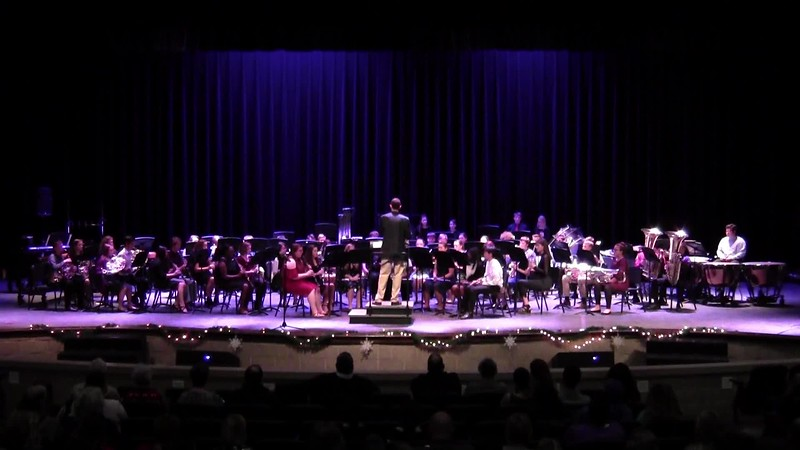 "College Station HS Symphonic Band - ""On a Hymnsong of Phillip Bliss"""