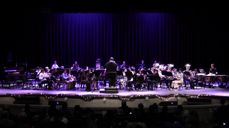 "College Station HS Concert Band - ""Reindeer Gallop"""