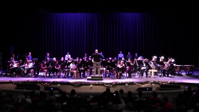 "College Station HS Wind Ensemble - ""Sleigh Ride"""