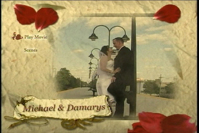 Michael & Damarys  Custom Video Menu
