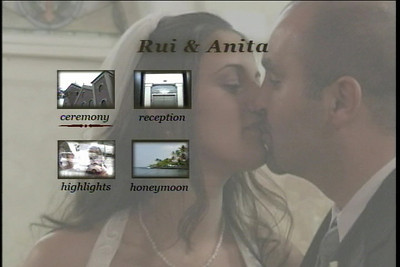 Rui & Anita  Custom Video Menu