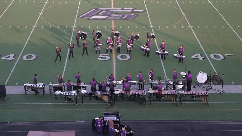 "2017 Drums Along the Brazos Drumline Contest - College Station HS Drumline - ""Poison"""