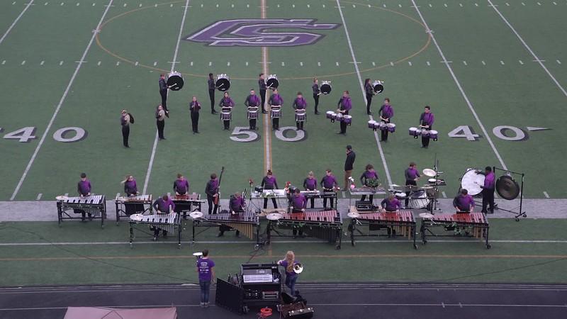 2017 Drums Along the Brazos Drumline Contest - College Station HS Drumline