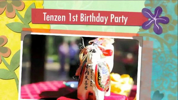 Tenzen 1st Bday Party 640