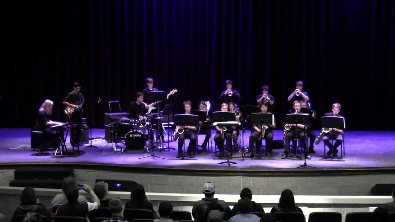 """College Station HS Jazz Band 1 - """"Jingle Bell Rock"""""""