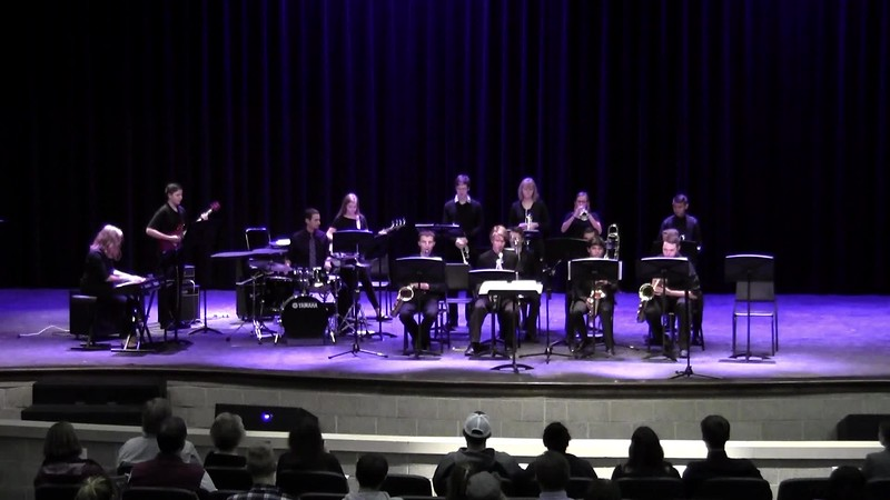 """College Station HS Jazz Band 2 - """"Christmas Song"""""""