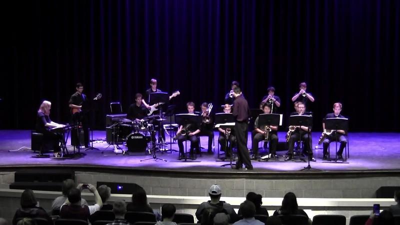 "College Station HS Jazz Band 1 - ""Rest Ye Merry Samba"""