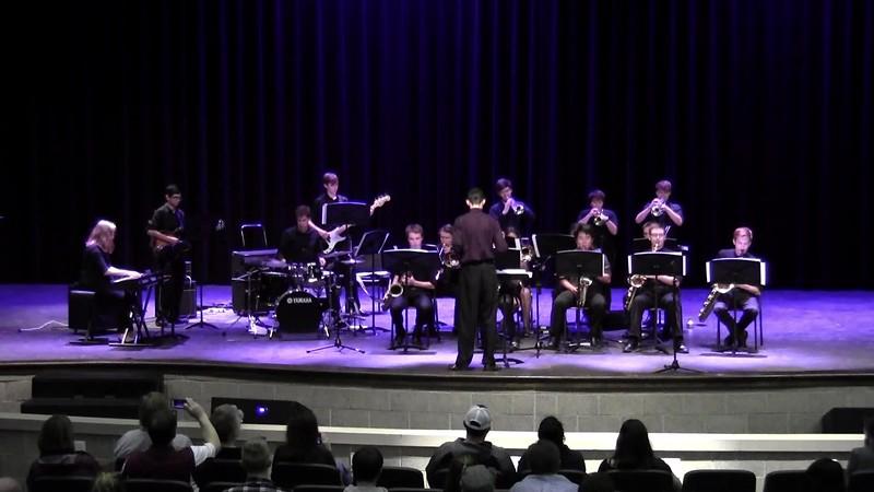 "College Station HS Jazz Band 1 - ""Carol O' the Bells"""