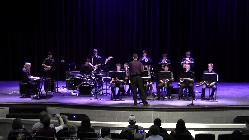 """College Station HS Jazz Band 1 - """"A Charlie Brown Christmas"""""""