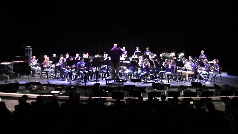 "College Station HS Wind Ensemble - ""The Irish Washerwoman"" 05/21/2018"