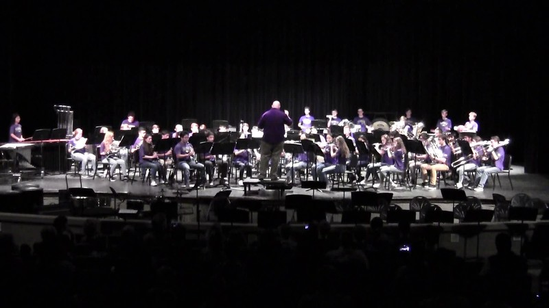 "College Station HS Wind Ensemble - ""Africa"" 05/21/2018"